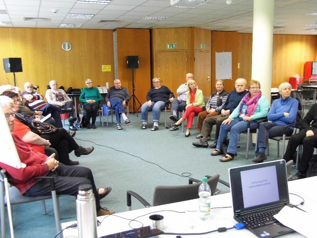 Seniorenseminar Medienkommunikation, Oktober 2015