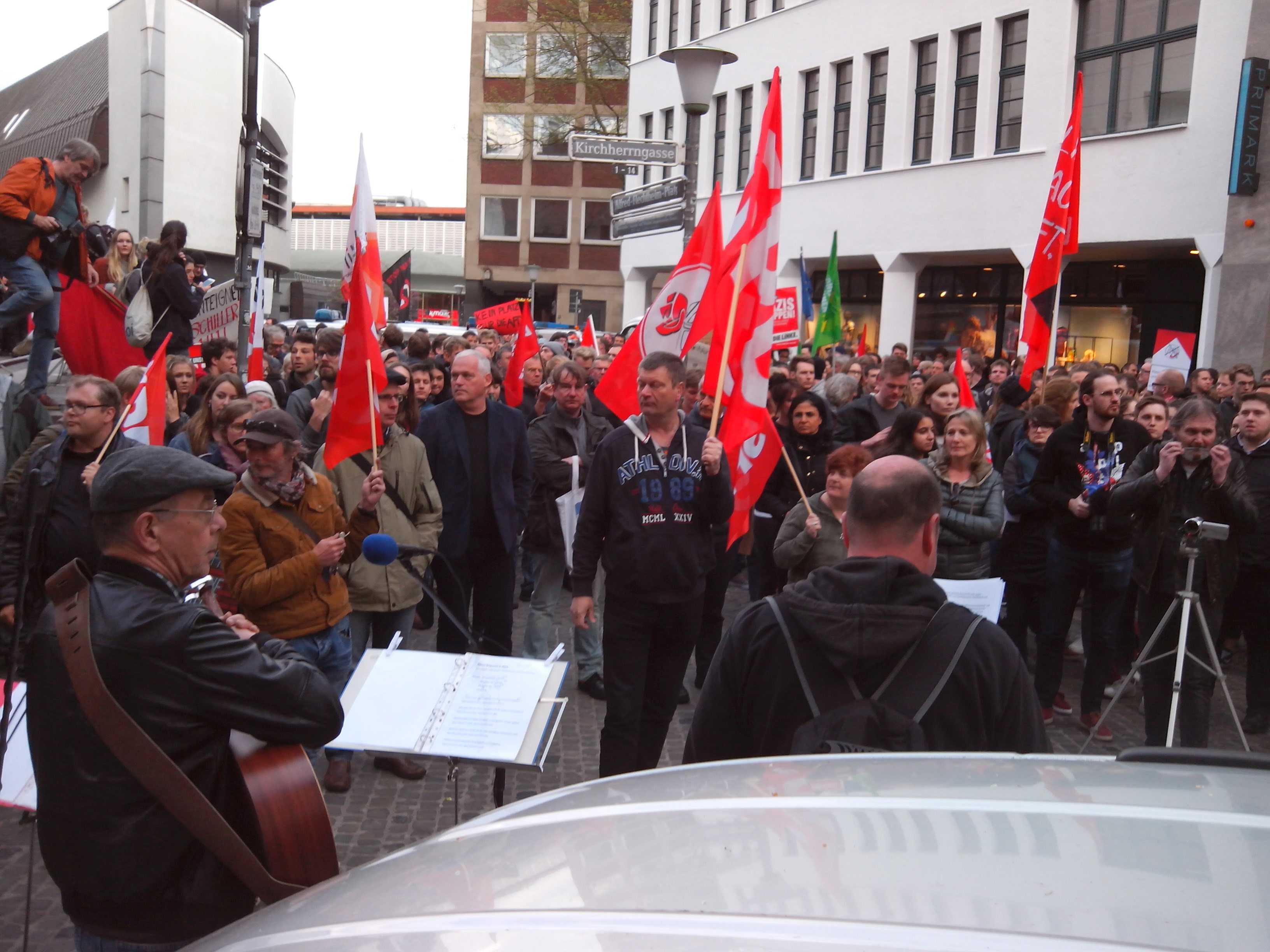 Afd Demo Münster