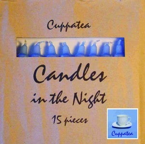 CD Candles In The Night (Cover-Abbildung)